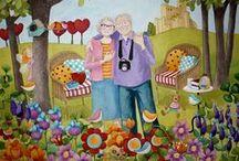 Ilustraciones - Creaciones artísticas. / by Natividad Gaset Burriel