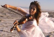Lindsey Stirling / Lindsey Stirling: the dancer violinist. My inspiration! Love her creativity, talent, and costumes :D