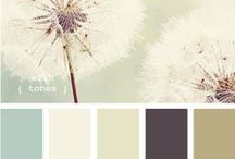 House - Color. / One day, these color shades will brighten my home.