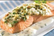 Recipe - Fish. / Give a man a fish and he'll eat for a day.