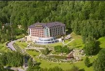 Hotel / Zdjęcia prezentujące hotel, jego piękne ogrody i ekskluzywne wnętrza oraz widoki roztaczające się z lokalizacji hotelu.