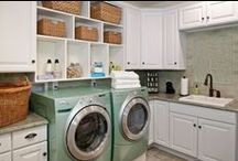 House - Laundry room. / The most memorable days usually end with the dirtiest clothes.