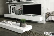 House - Living room. / It is perfectly fine to watch TV all day!