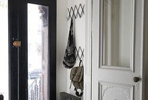 House - Mudroom. / The dirt stops here!