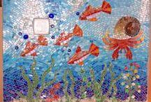 My mosaic works/Saját munkáim