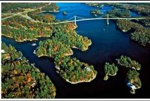 The Thousand Islands / The Thousand Islands, upstate NY and Canada