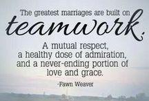 Teamwork / teamwork in marriage