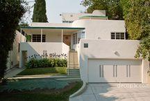 Art Deco / Art Deco style houses, doors, interiors and fixtures