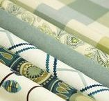 Seaglass & Emerald Greens / Color inspiration....fabrics, trims and more can be found on our materials library. Search by name or item number at http://app.lafvb.com/library
