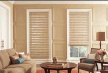 The Art of Layering Window Treatments / How to change a room with layering window coverings - this adds character, value, and additional insulation