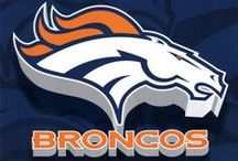 Denver Broncos / Welcome! Come on in and Pin as You Like. NO PIN LIMITS here, please enjoy! Thank you for following me and for your Awesome pins too! :-)  / by Susie