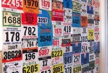 Uses for Race Shirts, Medals and Bibs / Ideas of things you can do with your race shirts, medals and bibs when you've completed your race