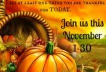 Thanksgiving / Thanksgiving Day and beyond!