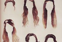 hair / Hair styles you can do