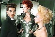 Hair Factory Collection / Colecciones de estilismos creados por Blue 01 Stylist by Felix Rojas.