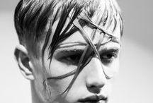 Looks Avant-garde men / Arte y peluquería.