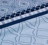 Blue Jean Baby Fabric Collection / Whether its faded and tumble washed, like your favorite pair of jeans or a fresh take on the iconic indigo, these blue hues are as Americana as apple pie.