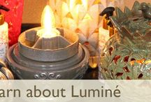 Lumine Fragrancer with Scent-IN instantly fragrances any space or favorite room! / Scent Savvy Fragrances Air! Perfect way to glow & fragrance without worry of a flame. Great for giving, entertaining and decorating!