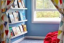 Leesomgeving kinderen - ideeën