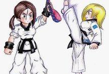 Taekwondo-entrainement