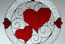 Valentines Day Decor Ideas / Handmade heart, Crochet heart, cross stitch pattern, Valentine Day Decor, Valentine Day Decor idea