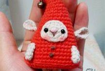 Amigurumi  Elf  and Angel / Amigurumi gnome, elf, doll, angel, troll crochet pattern free, crochet chriatmas toys