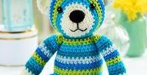 Amigurumi bear / amigurumi bear, koala, panda crochet pattern free, crochet toys, crochet  amigurumi animals