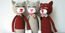 Amigurumi cats / Amigurumi cats, amigurumi cats crochet pattern, amigurumi cats crochet pattern free, crochet animals