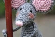Amigurumi Mouse / Crochet Amigurumi Mouse, crochet pattern toys, crochet pattern free