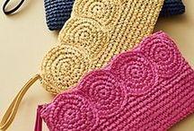 Crochet bag / Crochet bag, clutch, pouch, purse. Crochet pattern bag. Crochet bag free. Crochet bag tutorial. Small crochet bag. Crochet bag drawstring.