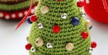 Crochet Christmas  Tree / christmas tree ideas, white christmas tree, christmas tree ornaments, crochet tree, crochet pattern tree, christmas tree decorations