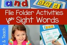 Sight Words / by Make, Take and Teach