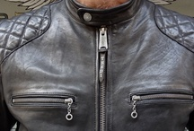 Thedi Leathers-Cafe Racer Jacket