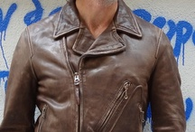 Thedi Leathers-Motorcycle Jackets / 50's style motorcycle jacket