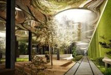 Underground Dwellings / Taking the whole dwelling underground overcomes some climate changing events.