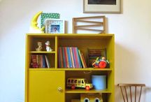 Room ideas for the kids / General ideas for storage and styling for all three kids