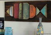 DIY: With Pallets / Interesting projects utilizing shipping pallets.