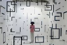 Installations of Joy & Colour / Installations... art on a grand scale.