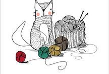 Cosas de Arañitas / Tejidos a dos agujas y crochet / by Paulina Allende