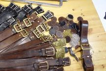 THEDI LEATHERS BELTS / Thedi leathers belts.