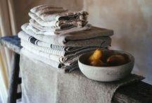 Linen, burlap, vintage