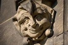 Architecture: Gargoyles / Protectors at the gate and walls: Gargoyles from around the world.
