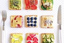 Food / Recipes, Snacks, Food that looks pretty and makes me hungry!
