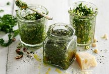 Dips,sauces,pesto,s, butter&dressings / Jammy extra's / by Claudia Mahler