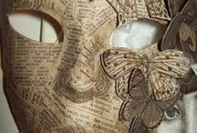 DIY: Papier Mache & Paper Art / Creating expressions in art form with a very inexpensive product budget. For all ages...