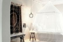 B E D R O O M & C L O S E T S / Minimal or feminine bedroom ideas and decoration.  Closets, wardrobes and clothing storage.