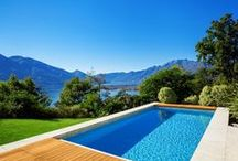 Real estates with pool / Luxury properties with pool and nice ambient.