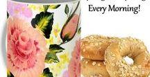 Coffee Mugs / Inspirational & motivational ceramic coffee mugs created from my original paintings.