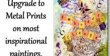 Art Original / Prints / Note Cards / Coloring Pages by Vallee Rose / Original inspirational artwork of mine used to design many of my inspirational items.
