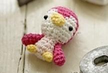 A* Crochet n knit n felt / Crochet knit felt thread wire beads amazing ideas / by Mel Webber